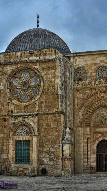 Al Aqsa Mosque Palestine Mekke Camiler Mimari
