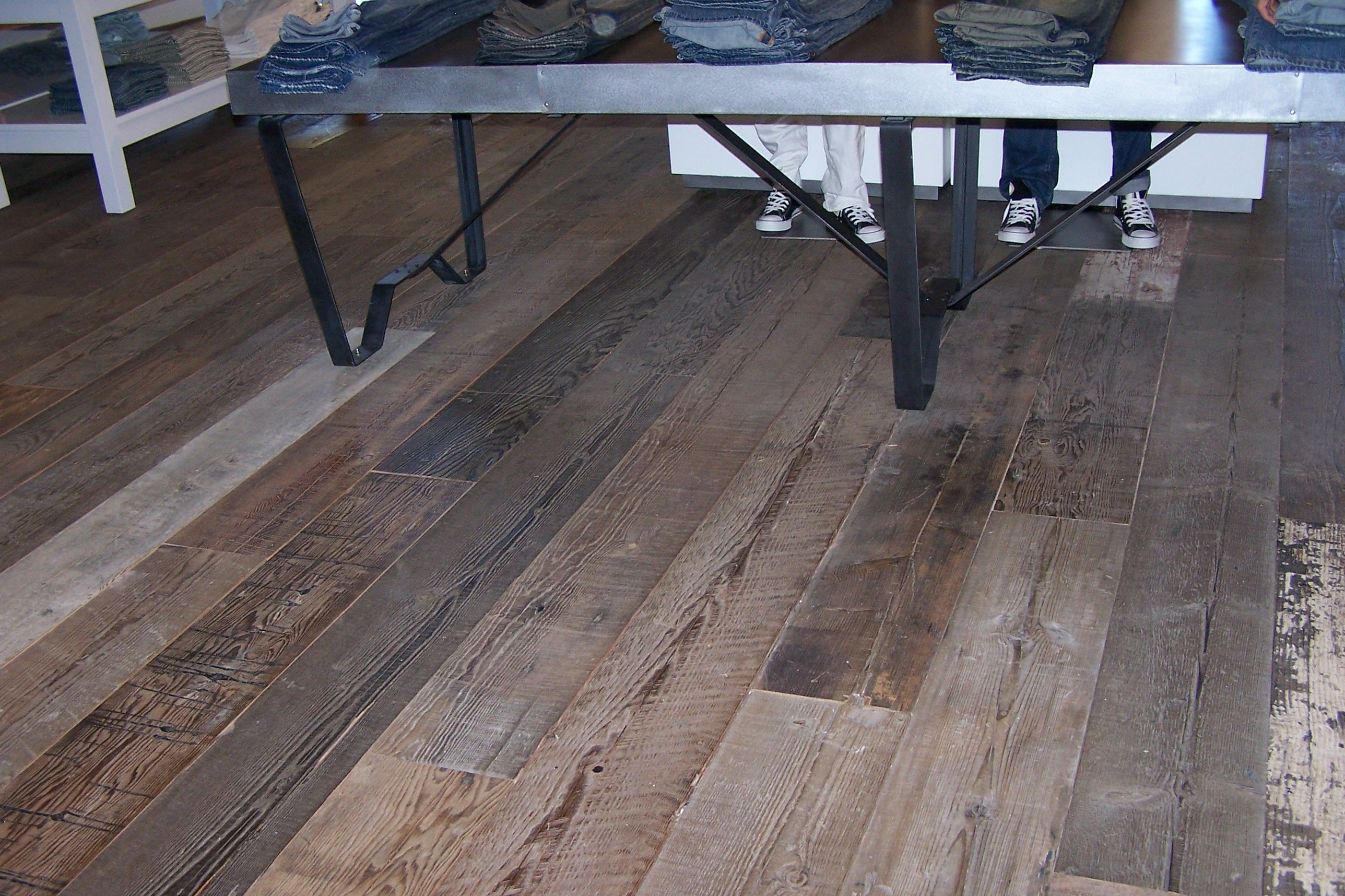Plank hardwood flooring for Hardwood decking planks