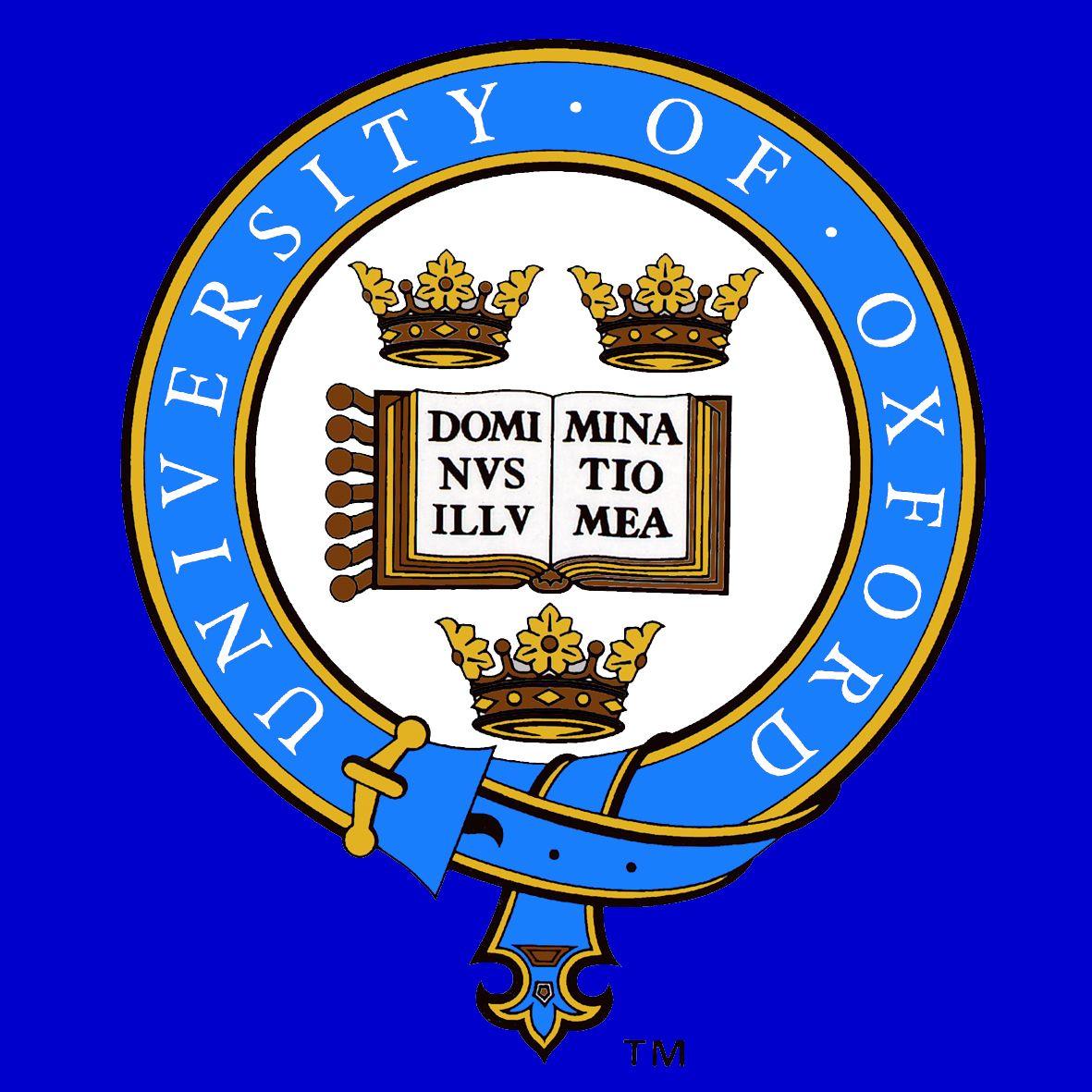 University of Oxford Logo. Loading Zoom Oxford