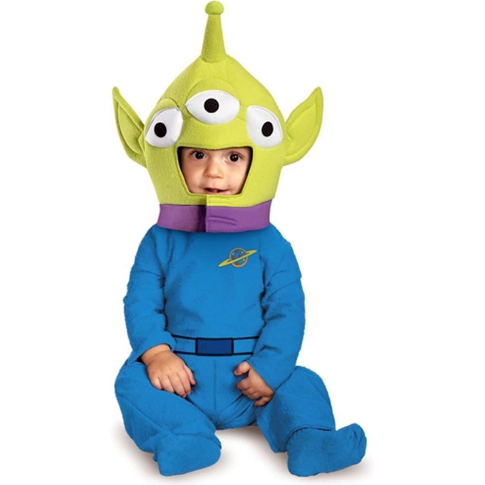 baby toy story alien halloween costume 12 18 months infant toddler disney pixar disguise - Toy Story Alien Halloween Costume
