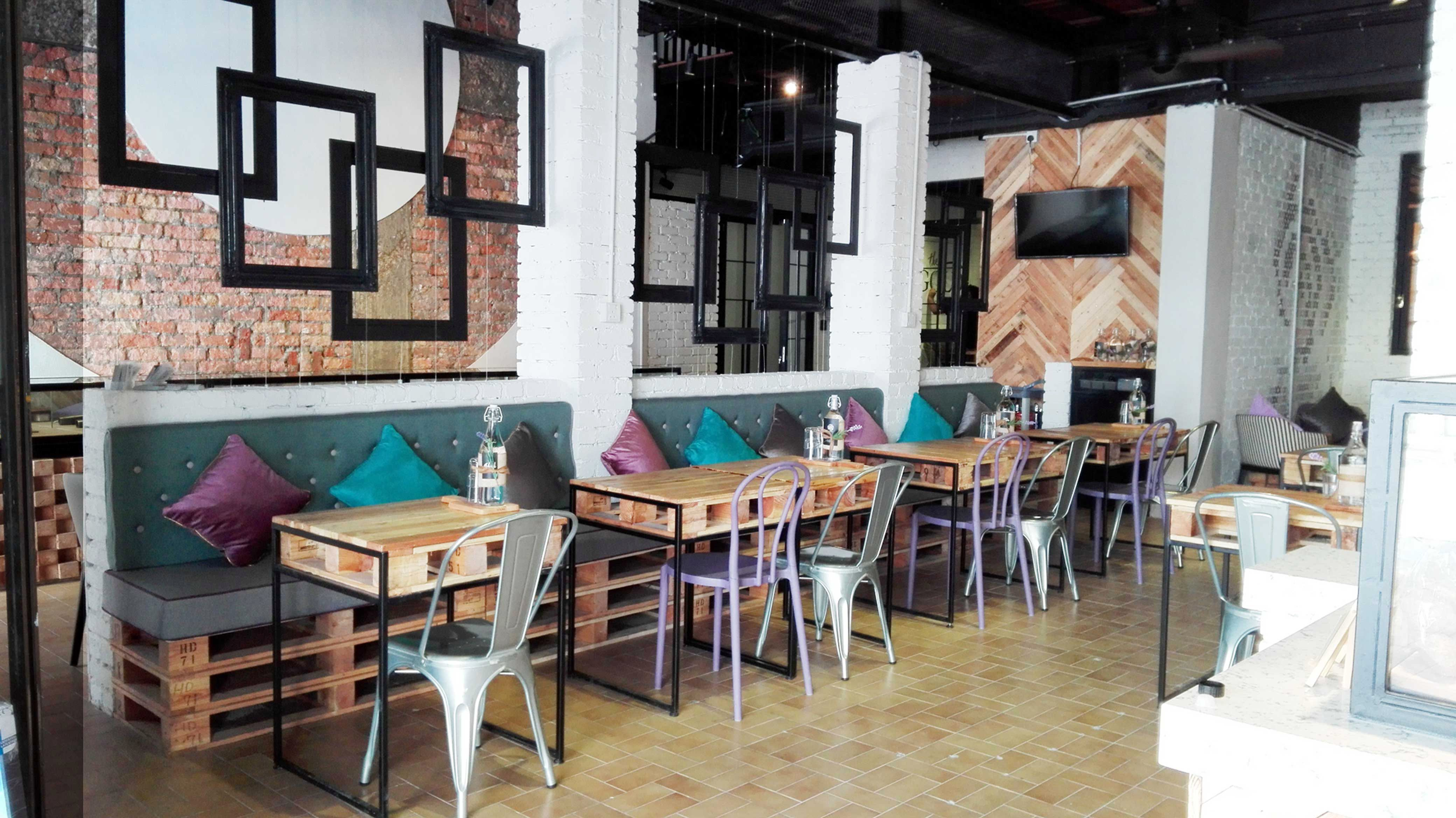 Dining Area Furniture, Table, Dining, Cafe, Bistro, Bar, Hotel, Interior  Design, Renovation, Campbell Street, Georgetown, Penang, Commercial, Custom  Made