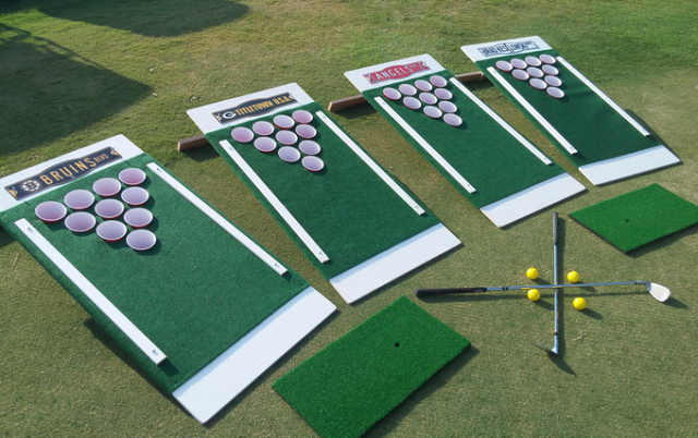 Forget Cornhole Beer Pong Golf Is Here To Change Backyard Games