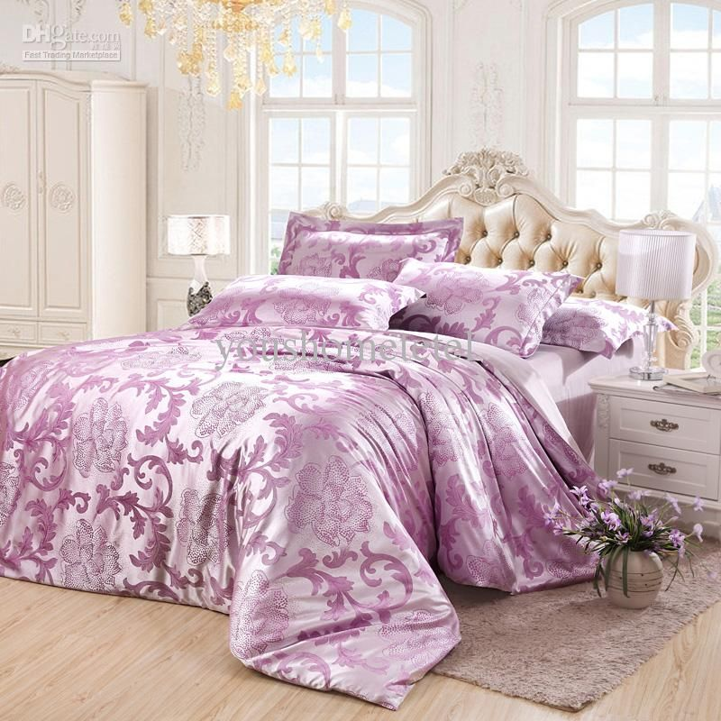 Beau Wholesale Bed In A Bag   Buy Home Textile Luxury Bedding Sets,purple  Bedspreads And