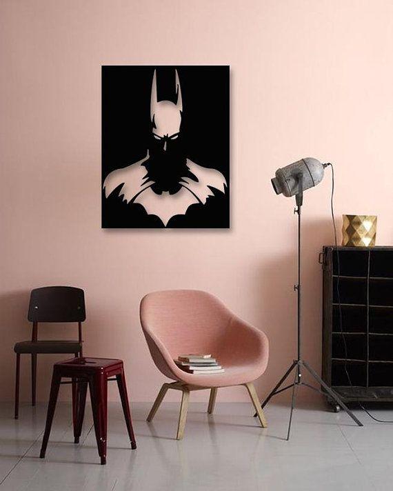 Batman Movies Metal Wall Art, Batman Begins Metal Poster, Metallic ...