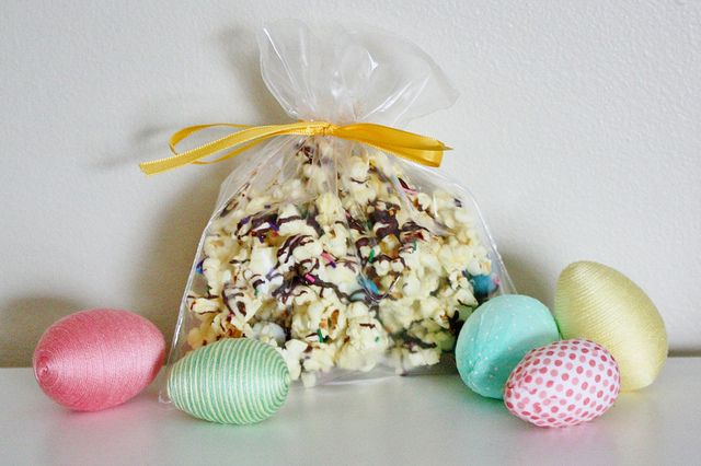 """Home-made """"Bunny Bait"""" #Easter #favors for friends and neighbours."""