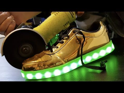 DIY Light Up Shoes! DIY Ideas You NEED To Try!   YouTube