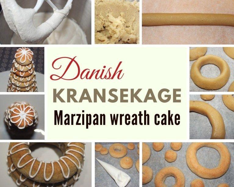 Kransekage - marzipan wreath cake - Danish Things