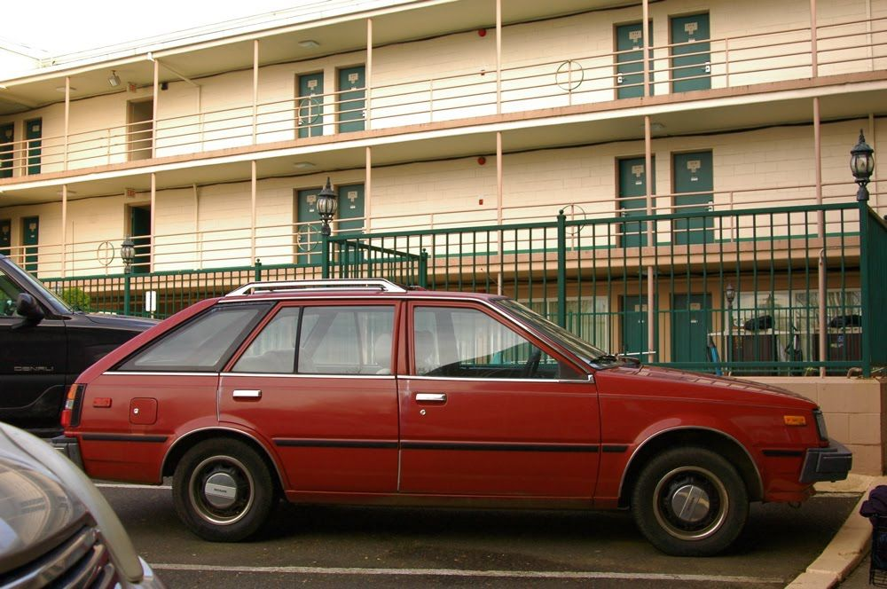 1985 Nissan Sentra Hatchback my 5th car same color fun to drive