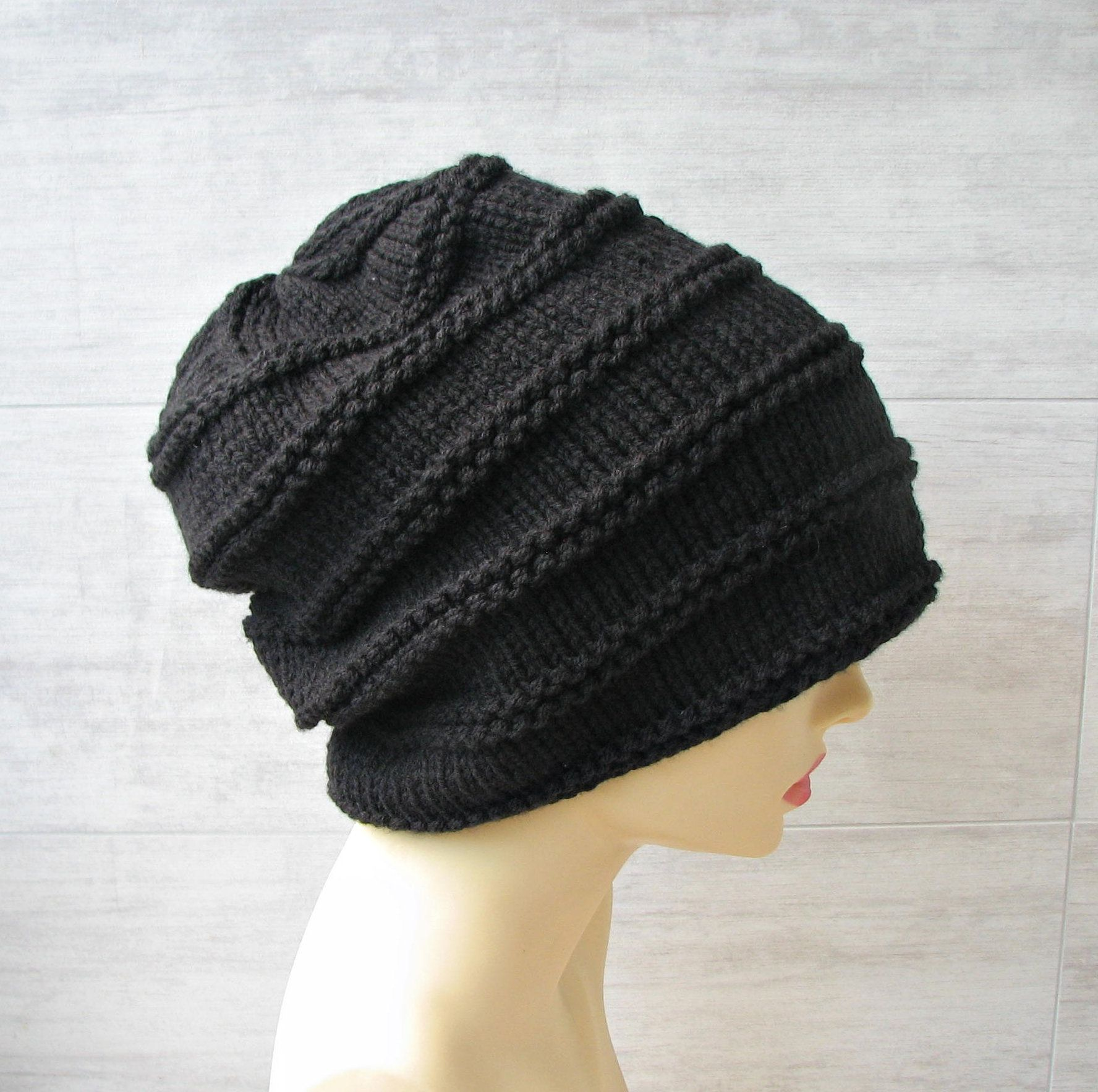 1214726b1 Hats for guys with dreads, long slouchy beanie, stocking cap for ...