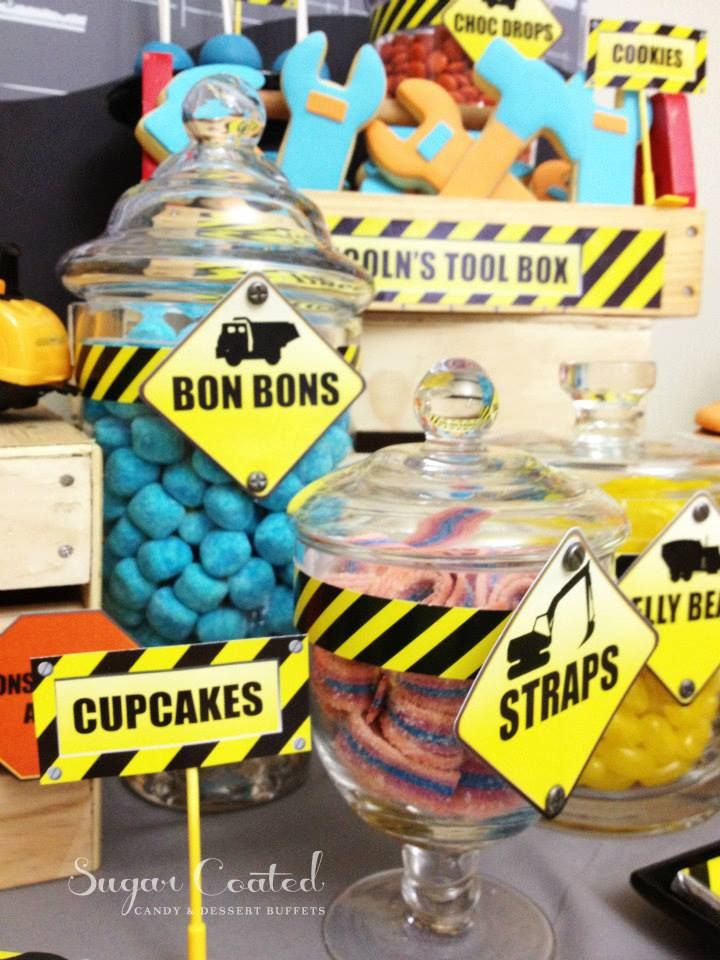 Construction Baby Shower Ideas And Shops For Boys. Inspirational  Construction Theme Photos And Decoration Ideas