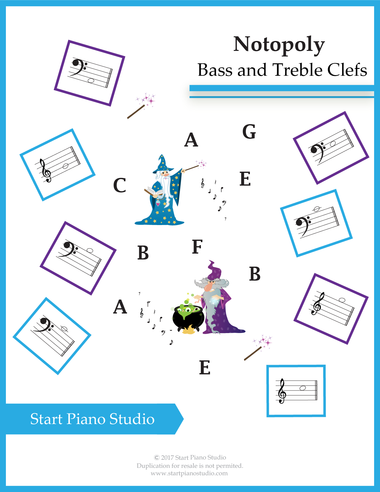 Notopoly Bass C