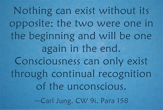 nothing can exist without its opposite the two were one in the