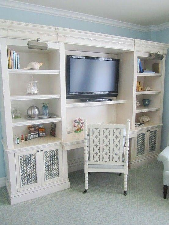 Home Decor Bedroom Storage Living Room Guests Built In Desk