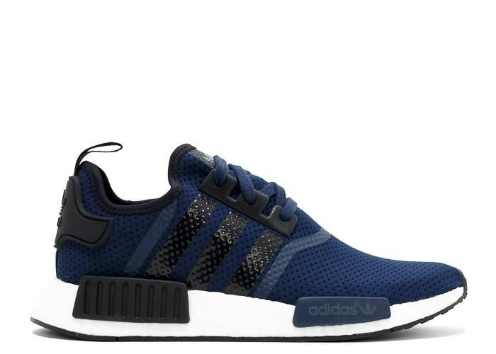 NMD R1 JD Sports Navy Black Core Black | Adidas NMD Shoes