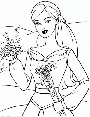 Mewarnai Gambar Barbie Princess : mewarnai, gambar, barbie, princess, Gambar, Mewarnai, Barbie, Untuk, Mewarnai,, Kelinci,, Warna