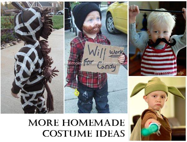 Homemade Halloween Costumes Costumes, Homemade costumes and - diy infant halloween costume ideas