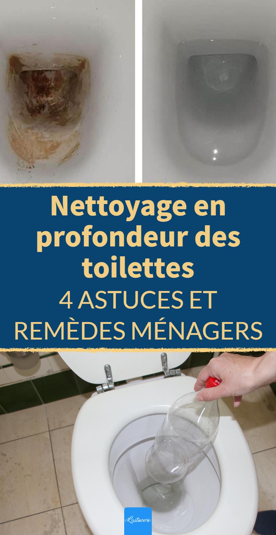 Nettoyage en profondeur des toilettes : 4 astuces pour les zones à problèmes