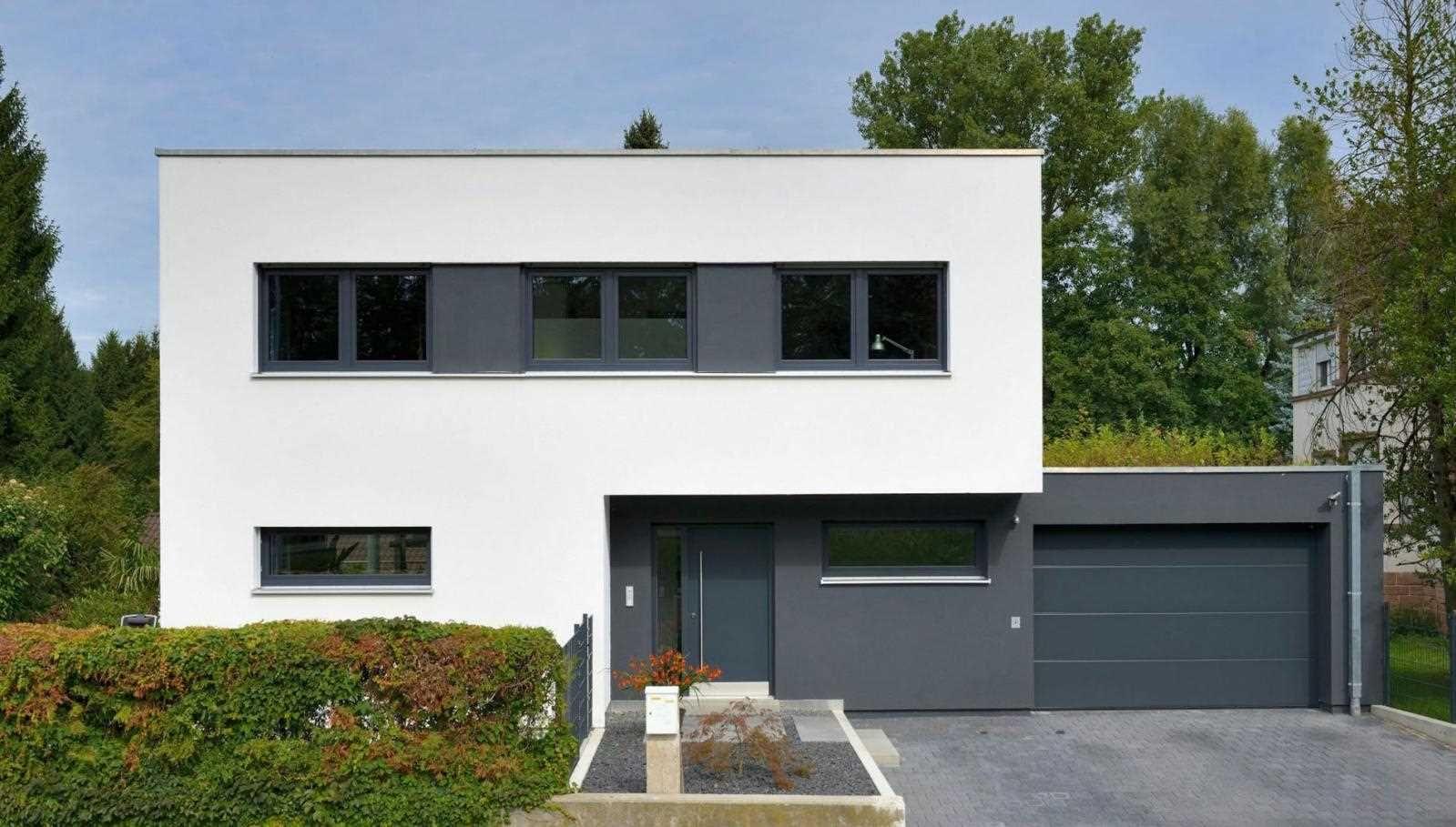 Außen Bauhaus, innen Mehrgenerationenhaus | Haus Hirsch | Fertighaus ...