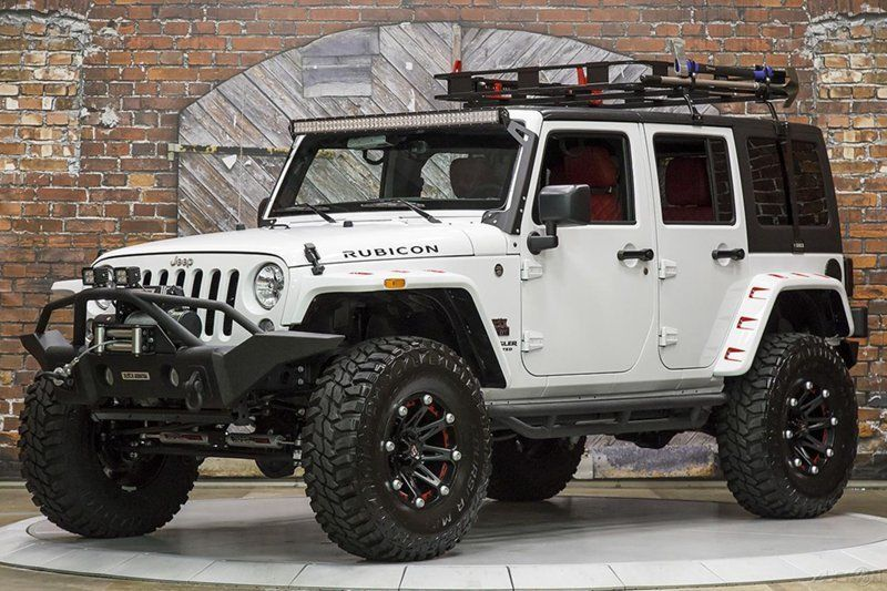 5a8f7864042 Jeep   Wrangler Unlimited Rubicon White Automatic Black Mountain ...