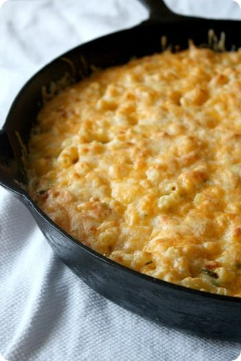 Poblano Macaroni and Cheese