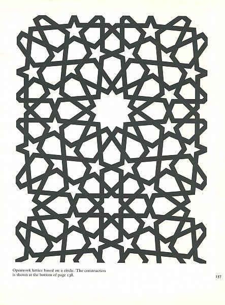 Pattern In Islamic Art Pia 137 Moorish Arabesque Moroccan Muslim Geometric Tile Design Islamicart Islamic Art Geometric Art Islamic Art Pattern
