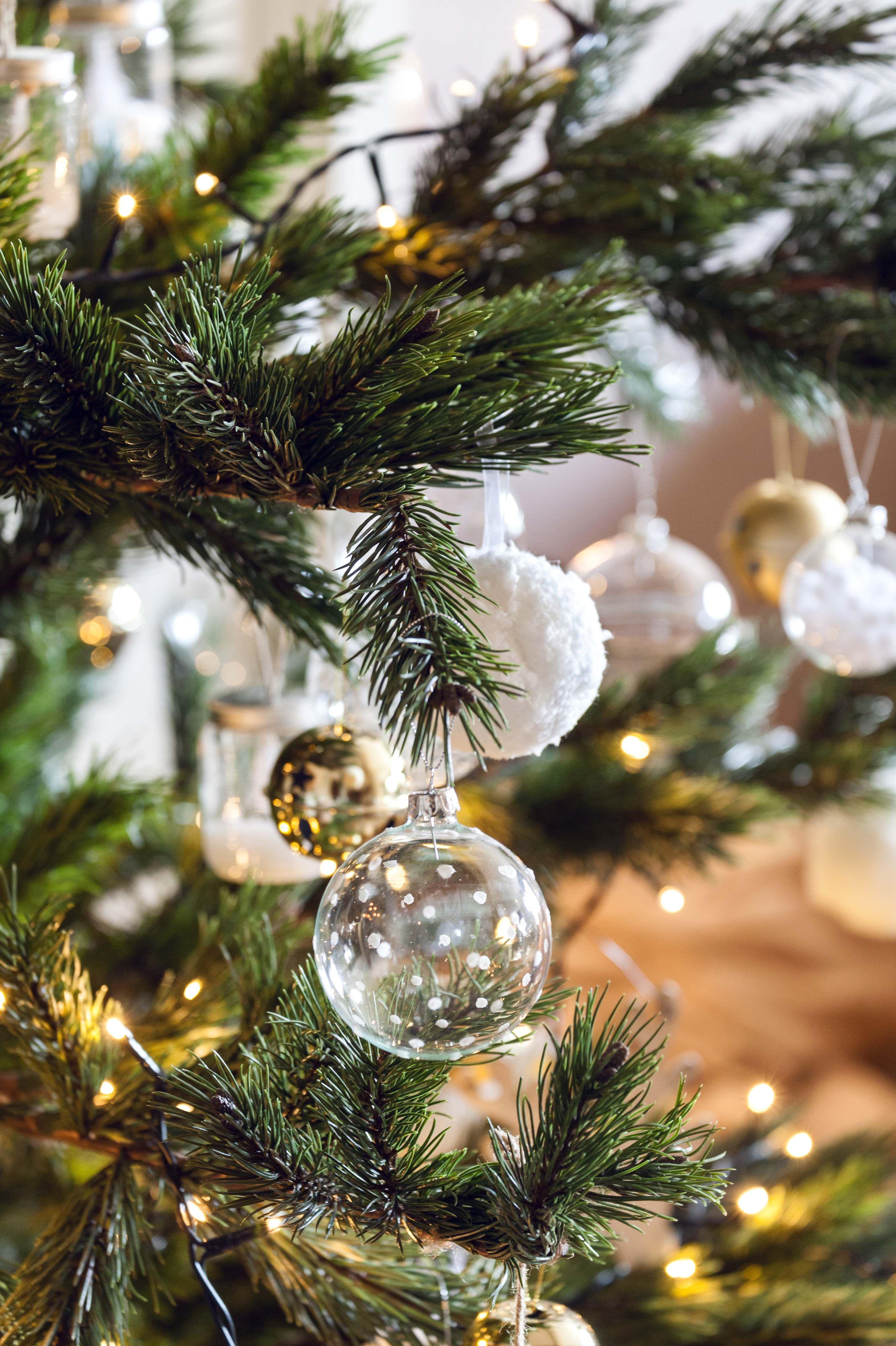 Blanco plata y oro para rboles elegantes muymucho - Arboles de navidad elegantes ...