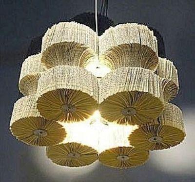 lamparas colgantes de papel - Buscar con Google LAMPARAS DE TODA