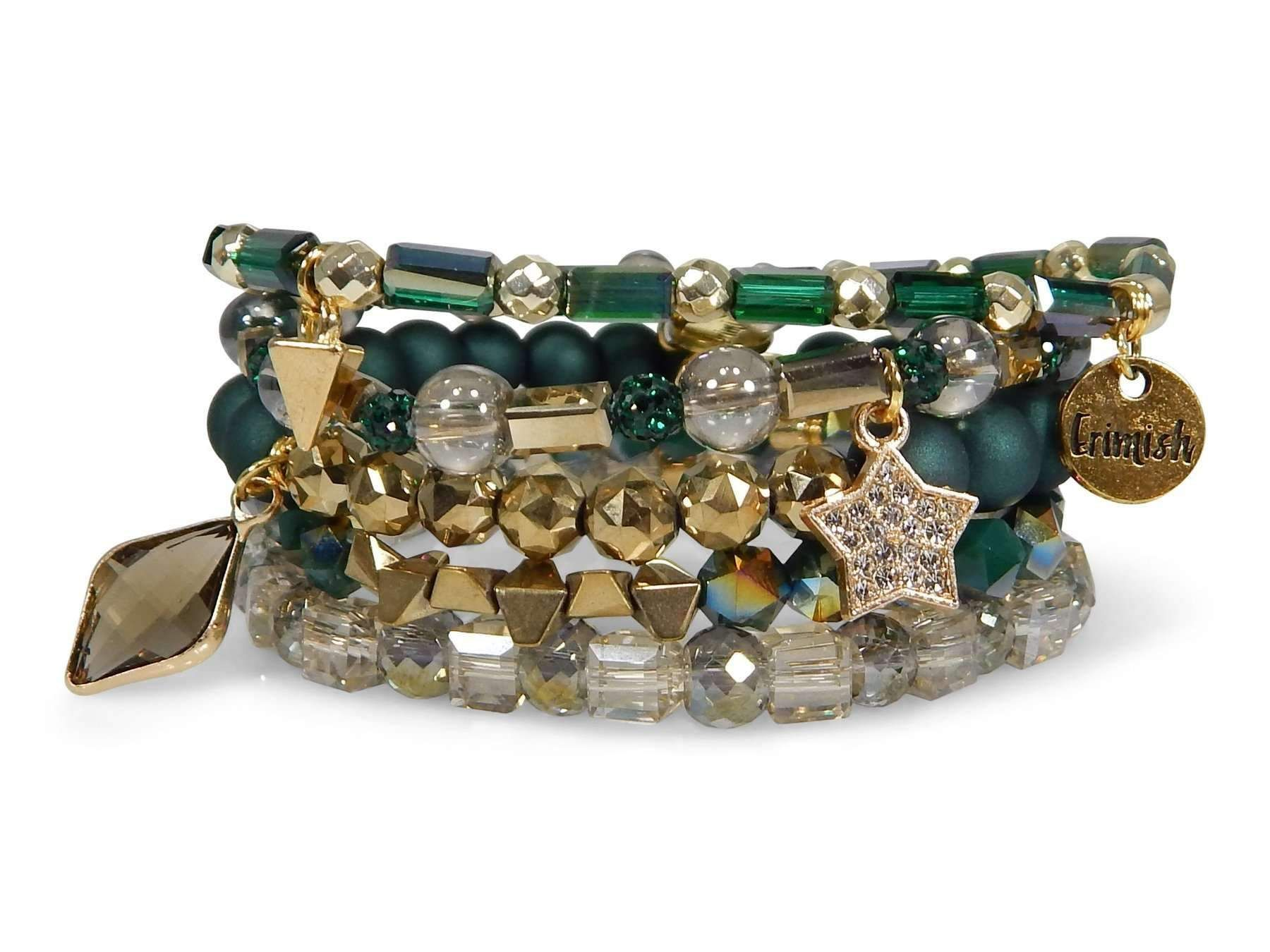 Erimish piece bracelet stack holly in products pinterest