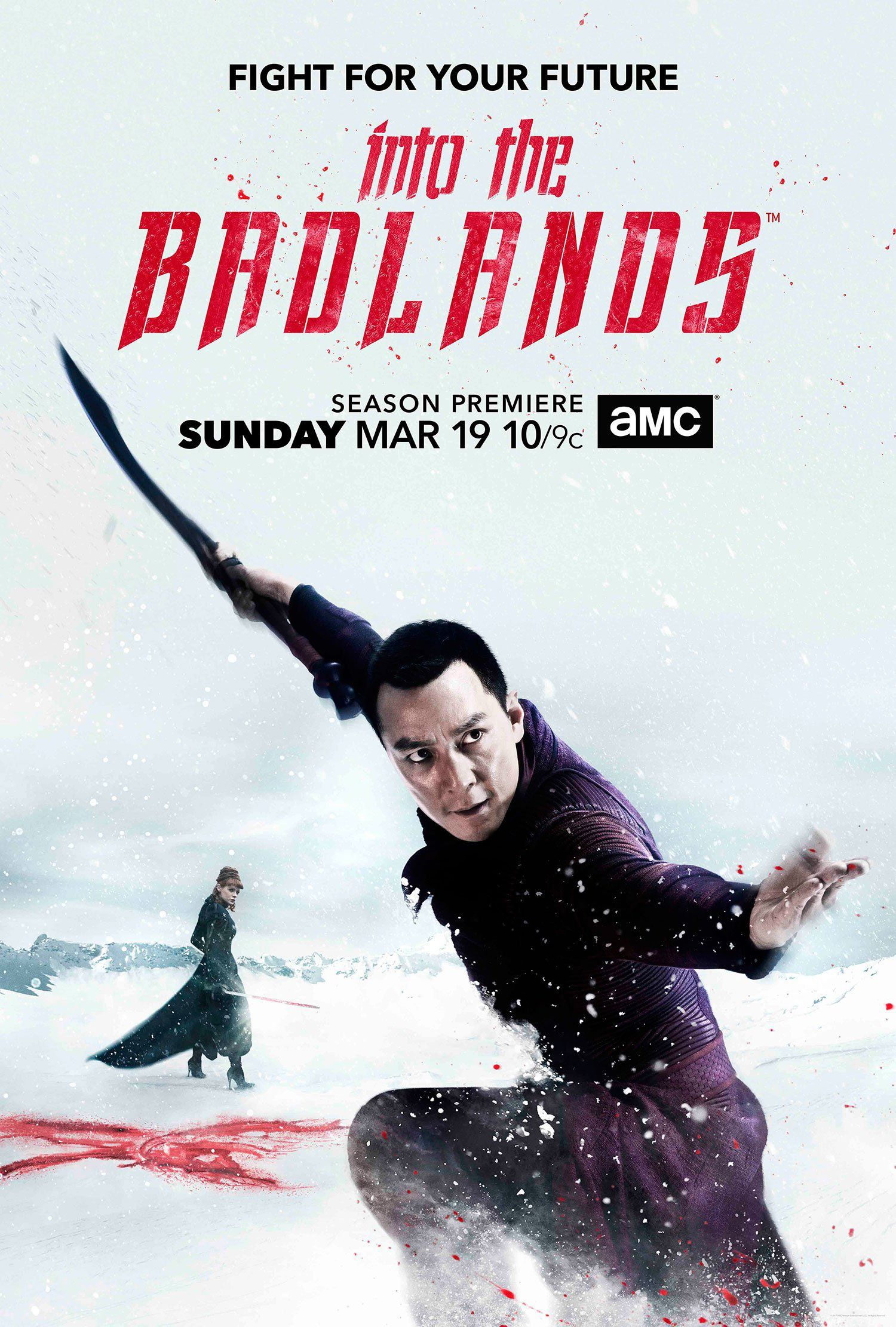 Into the Badlands S2 Cast Promotional Poster   Into the Badlands ...