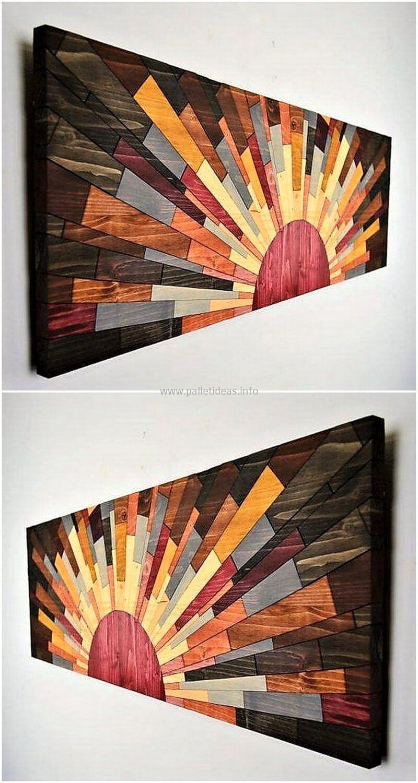 Wood Pallet Wall Art Craft Pallet Wall Art Wood Wall Decor