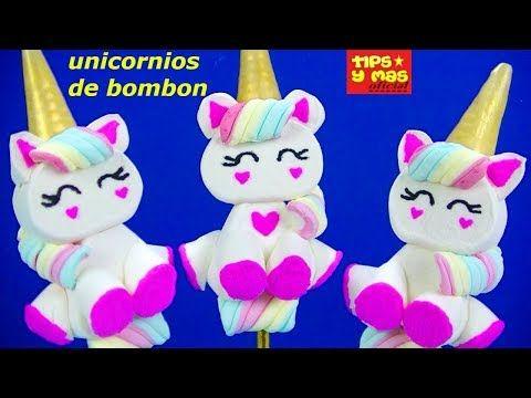 Como Hacer Unicornios De Bombon Super Faciles Detalle Dulce Para