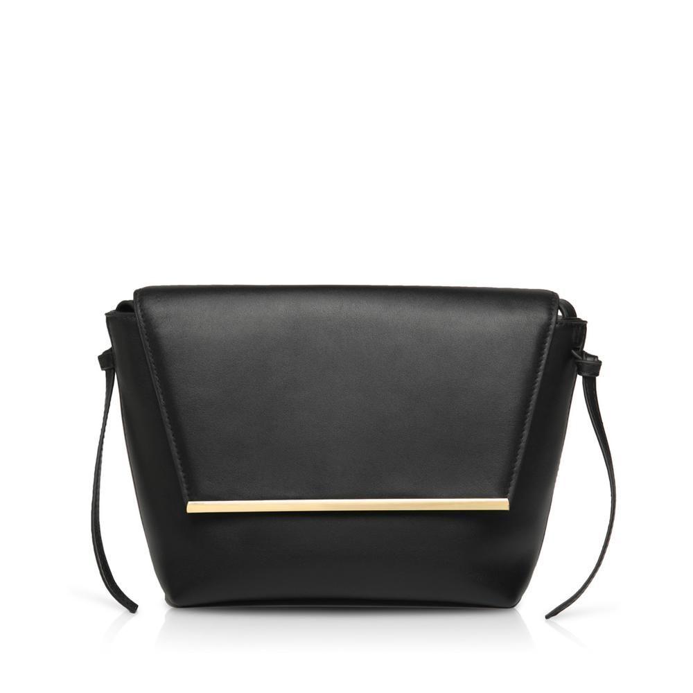 fbb44e43eea2 Lara Flap Crossbody Bag - Black