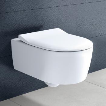 Frisch Villeroy & Boch Avento Wand-Tiefspül-WC, DirectFlush, mit WC-Sitz  UU45
