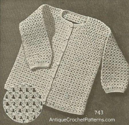 Free Crochet Bobby Cardigan Pattern Easy Step By Step