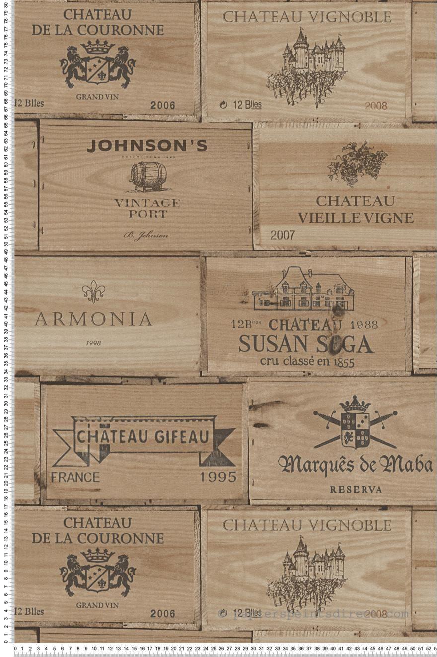 100 Fantastique Suggestions Papier Peint Caisse De Vin