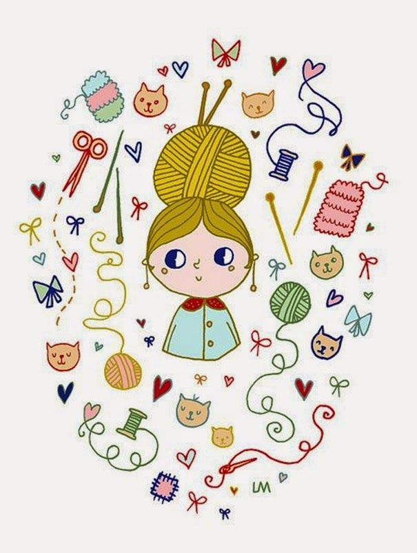 Отправить, веселые картинки вязания