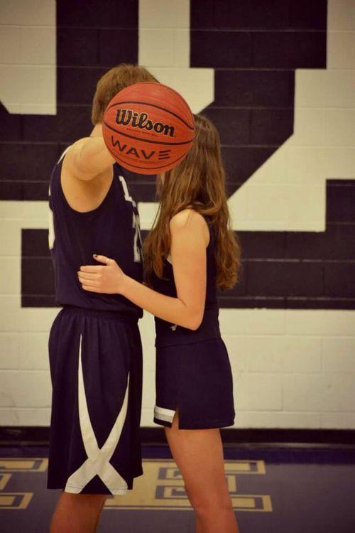 Cheerleader And Basketball Player Pinterest Basketball Couples