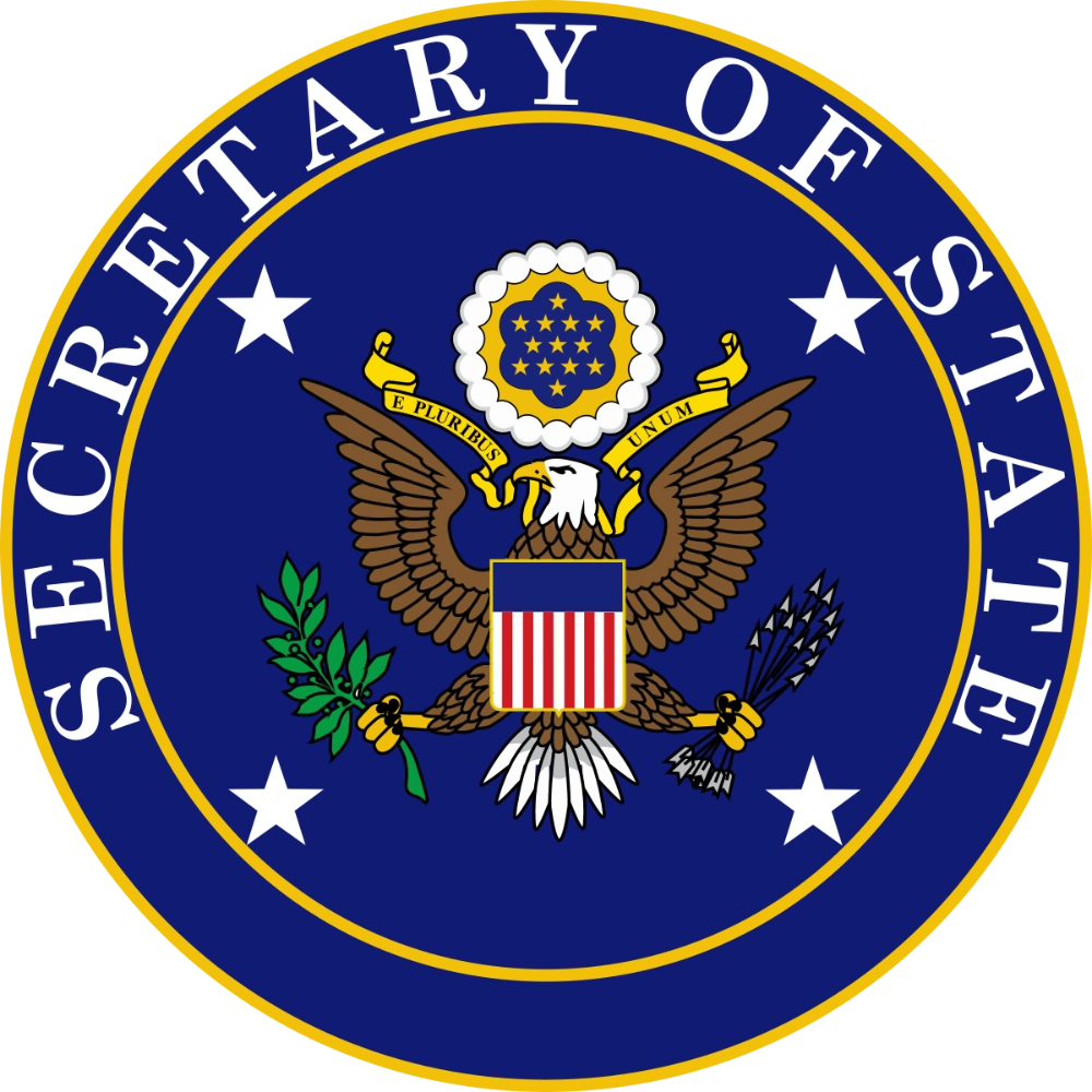 United States Secretary Of State Seal Google Search In 2020 Government Logo United States States