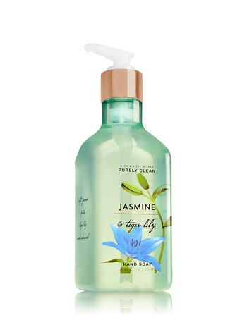 Jasmine Tiger Lily Purely Clean Hand Soap Bath And Body Works