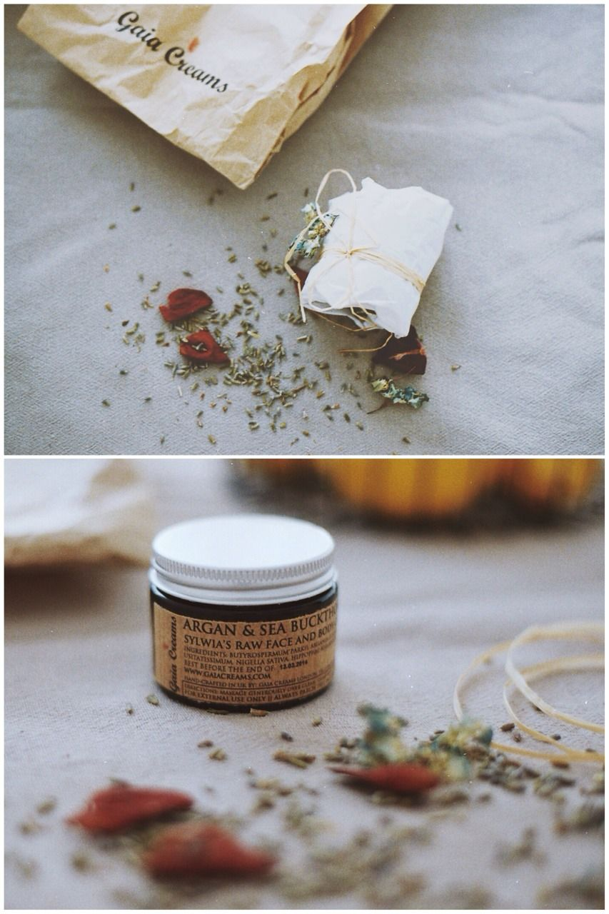 I love raw handmade Gaia Creams.