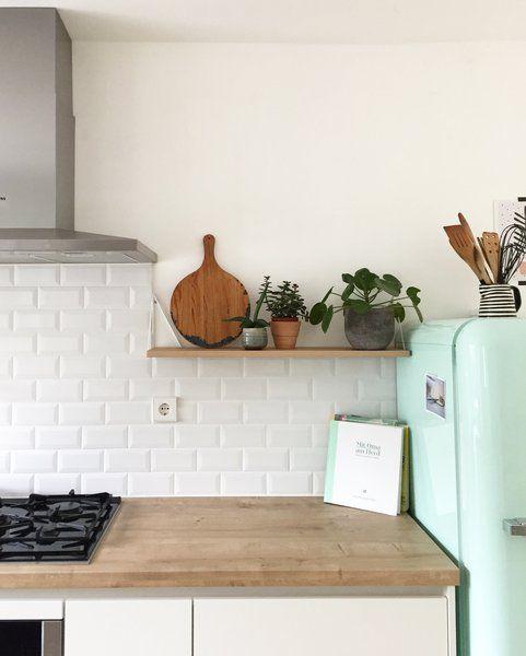 Küchen-Makeover Wandfliesenspiegel Teil 2: Klassische Metrofliesen für die Küche #kücheideeneinrichtung