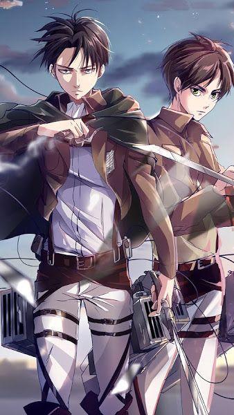 Levi And Eren Attack On Titan 4k 3840x2160 Wallpaper Attack On Titan Anime Attack On Titan Fanart Attack On Titan Eren
