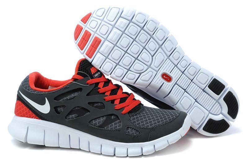 wholesale dealer 9be09 7daec Nike Free Run 2 Herren Laufschuh Schwarz Weiß-Volt