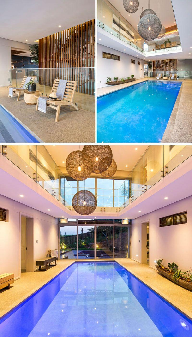 Indoor pool einfamilienhaus  7 schöne Häuser mit eindrucksvoller Architektur aus aller Ecken ...