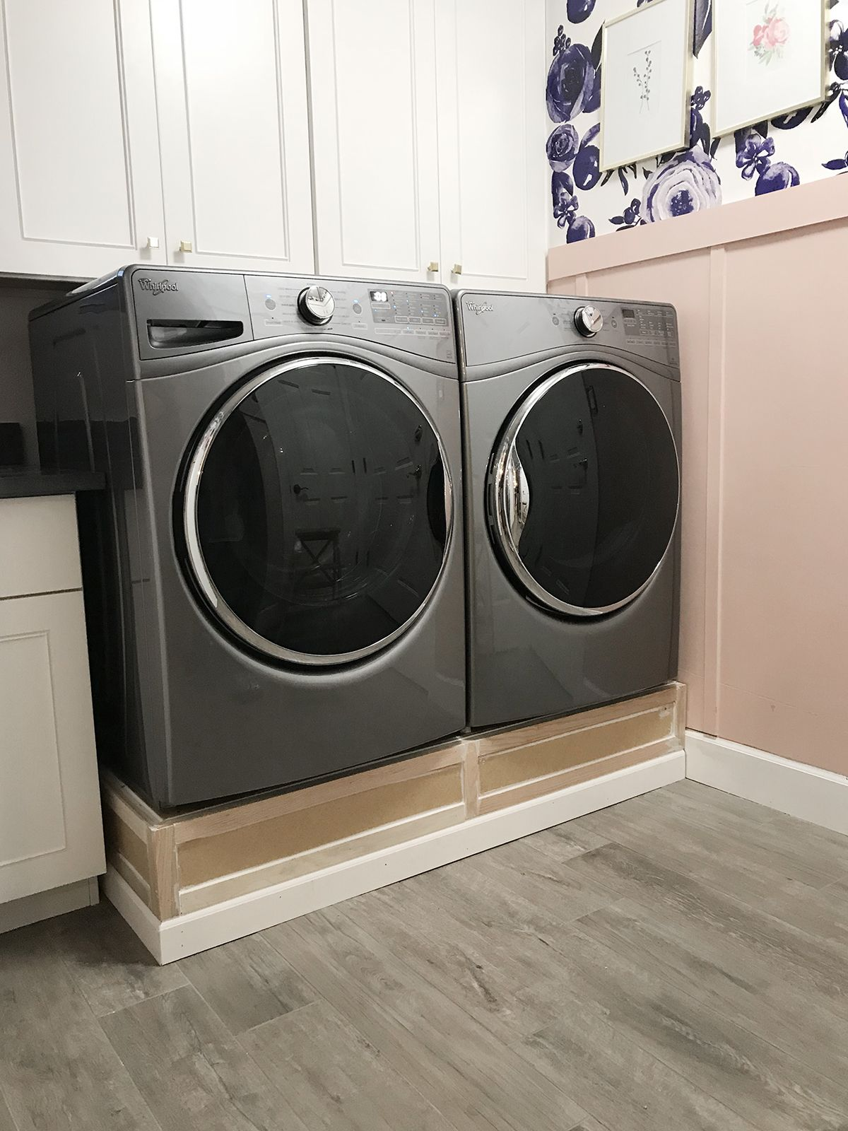 Park Home Reno Laundry Room Makeover Classy Clutter Laundry