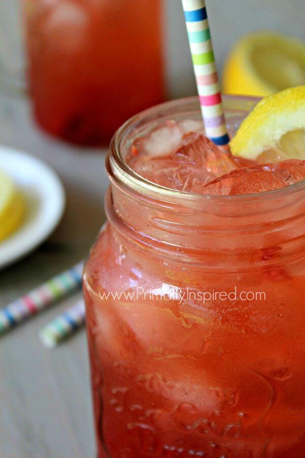 Berry Lemon Apple Cider Vinegar Drink Recipe - Primally Inspired ACV DRINK
