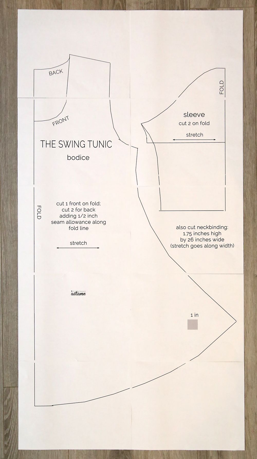 Free swing tunic sewing pattern perfect for leggings tunic free swing tunic sewing pattern perfect for leggings its always autumn jeuxipadfo Image collections