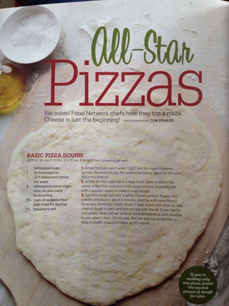 Basic Pizza Crust Grains In 2019 Pizza Dough Pizza