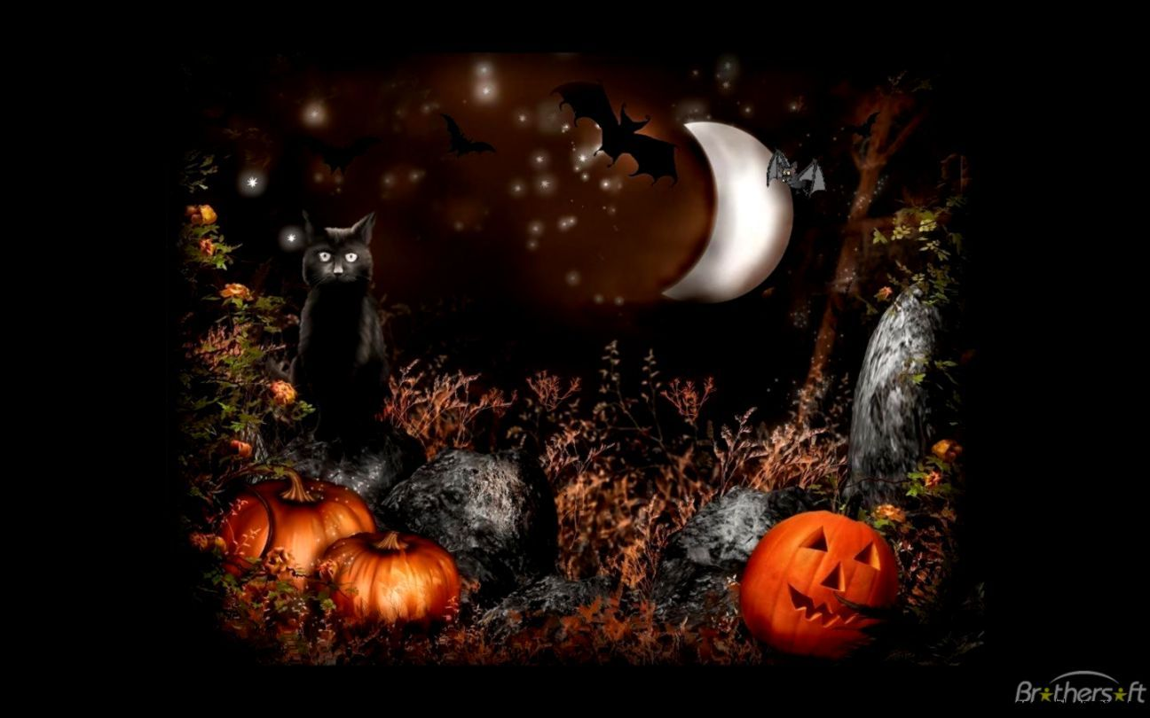 Halloween Hd Wallpapers Backgrounds Wallpaper 1280 866 Animated Halloween Wallpapers 35 Wallpapers Ado Halloween Scene Cute Halloween Halloween Pictures