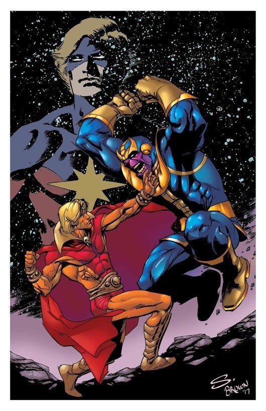 captain marvel vs adam warlock